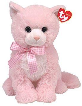 juguete ty classic - duquesa - gato rosado