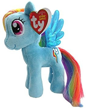 juguete ty mi pequeño pony - rainbow dash