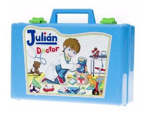 juguete valija julian doctor chica  babymovil d011