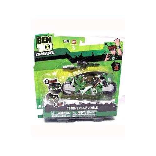 juguete vehiculo ben 10 verde