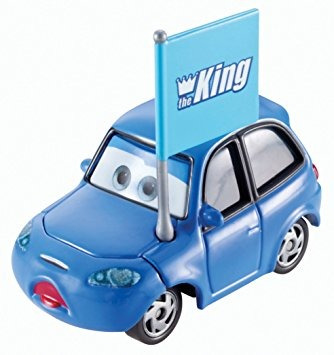 juguete vehículo de disney / pixar cars mateo true blue mcc