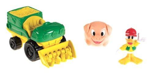 juguete vehiculo fisher-price verde