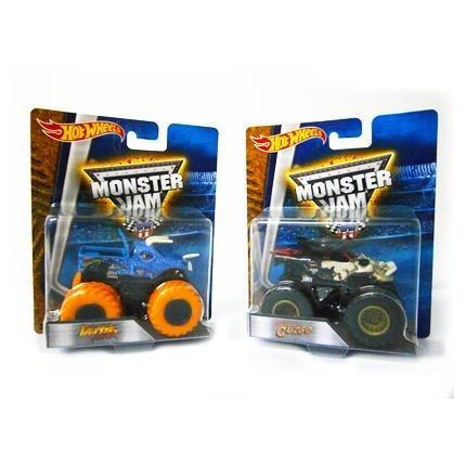 juguete vehiculo monster mattel jam 1:64