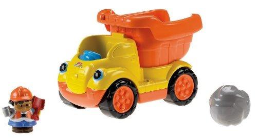 juguete volqueta fisher-price amarillo