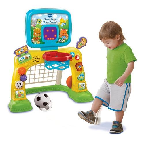 juguete vtech inteligentes shots sports center