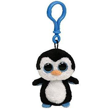juguete waddles el pingüino - clip on - ty beanies boos por
