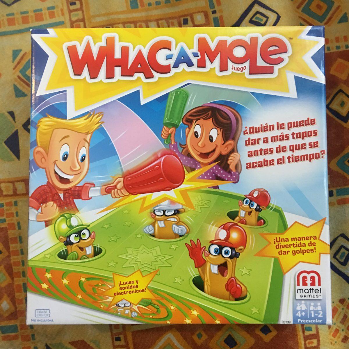 Juguete Whaca Mole Juego De Mesa Original Clasico Para Ninos