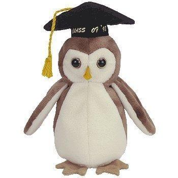 juguete wise owl - ty beanie baby de ty warner / disney