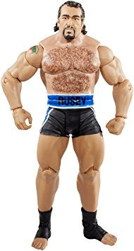 juguete wwe figure series #47 -superstar #14 rusev