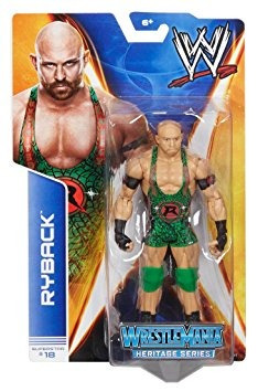 juguete wwe series #37 - #18 ryback wrestlemania 29 figure