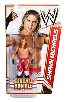 juguete wwe shawn michaels 1995 royal rumble figura serie 1