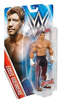 juguete wwe wrestlemania 32, eddie guerrero, 6