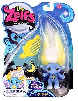 juguete zelfs tamaño medio lunanne muñeca