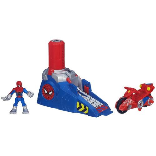 juguetehombre araña super hero aventuras con lanzador/hasbro