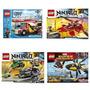 Lego Ninjago-city-marvel 70722-70721-60002-76019