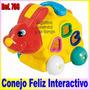 Juguete Conejo Interactivo Estimulacion Niños Formas Colores