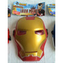 Mascaras Spiderman Capitan America Ironman Advengers