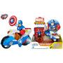 Playskool Heroes Wolverine Y Capitan America De Marvel