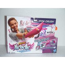 Nerf Rebelle Pink Crush, Juguetes Hasbro