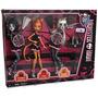 Monster High Exclusiva De 3 Piezas Fearleading Hombres Gato