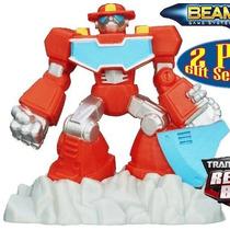 Mini Transformer Rescue Bots Heatwave
