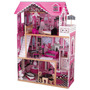 Casa De Muñecas Barbie Kidkraft Amelia Tres Niveles Juguete