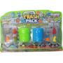 Monstruos Trash Pack Serie 3 Paquete De 8 Figuras Y 2 Potes