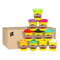 Plastilina Play-doh Caso De Colores 10 Unidades