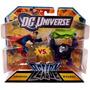 Dc Universe Liga De Acción Mini Figura 2pack Superman Vs. B