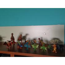 Colección Exclusiva De Dinosaurios Fluorescentes. Importados