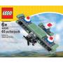 Juguete Avion Lego Set #40049 Mini Gris