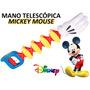 Juguete Mickey Mouse Disney Mano Telescópica Regalo Fiesta