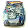 Yo Yo Hot Wheels Forma De Llanta Con Luces Y Rines Cambiable