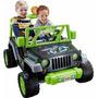 Jeep De Las Tortugas Ninja De Fisher-price Power Wheels