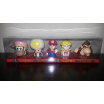 Caja De Coleccion - Mario Bros Y Amigos