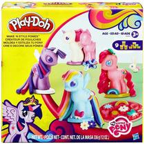 Play Doh My Little Pony Hasbro Plastilina