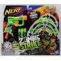 Nerf Zombie Strike Pistola Lanzador Con Objetivo A6636 Verde