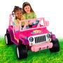 Fisher-price Barbie Jeep Wrangler Carro Eléctrico Niña