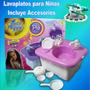 Lavaplatos Manual Para Niñas Con Sonido, Sale Agua D Verdad