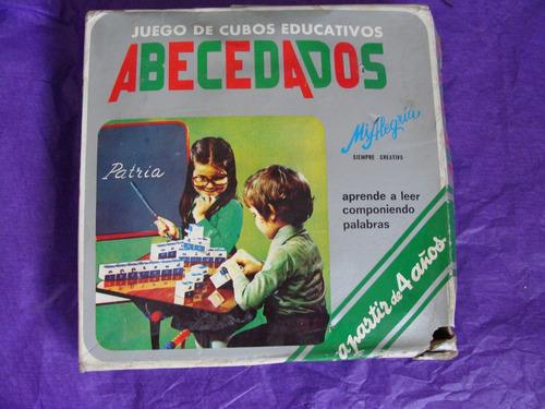 juguetes, abecedados mi alegria, de los 80s,  nunca usado, c