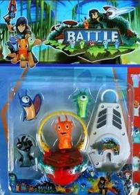 Juguetes Bajoterra 4 Babosas Lanzador Bajo Terra Niño Slug