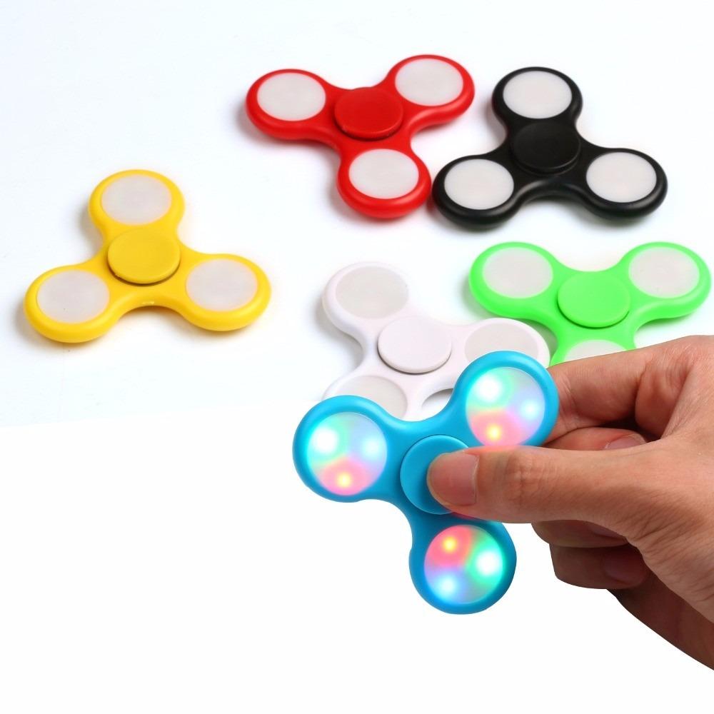juguetes baratos de spinner por unidad con luz barato