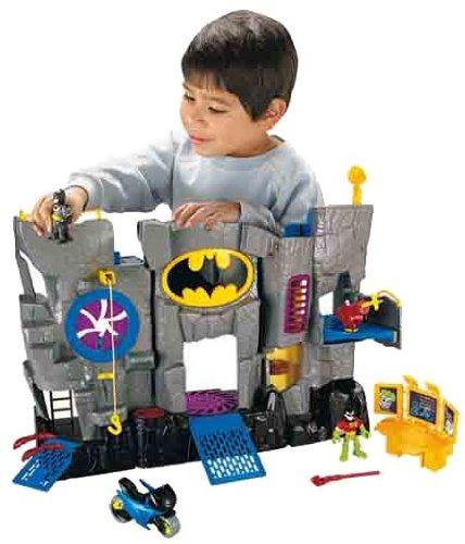 juguetes baticueva batcueva-imaginext gris