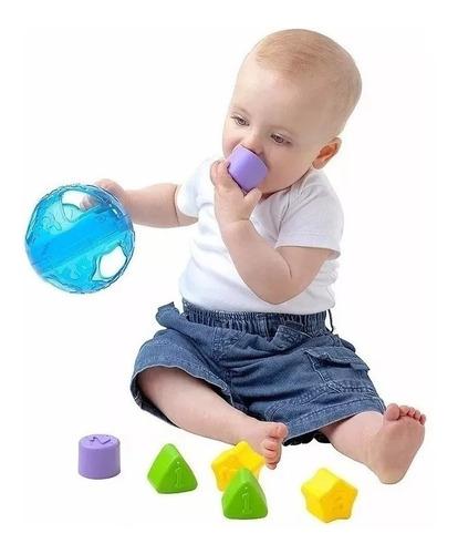 juguetes bebe encastre roll and sort ball playgro babymovil