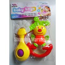 Sonajero Maraquitas Para Bebes Baby Toys