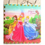 Lamina Piso Foami Grande 4 Pieza De 60cm C/u Princesa Disney