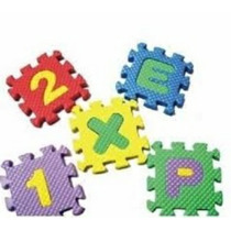 Alfombra D Foami Para Bebés Letras Y Números Mayor Y Detal