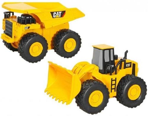 juguetes cat original grua volteo tractor niños c/u (25v)