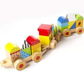 A Locomotora Tren Juguetes Cerebrales Gordos De Apilamiento IbWYeDH2E9