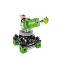 juguetes de construcción,fisher-price trío linterna verd..